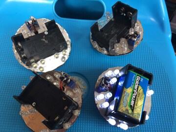 安売り!電池式LEDホイールマーカーユニット。デコトラ!レトロ