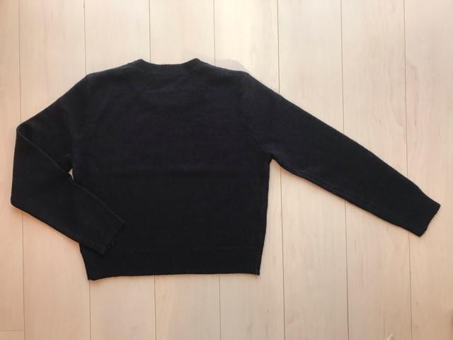 ●EMODA●ニット セーター/ネイビー/FREESIZE < ブランドの