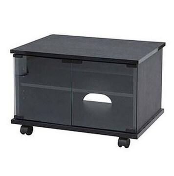 テレビ台 幅47.4×奥行39×高さ37.7cm ブラック