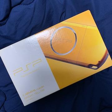 新品 PSP ブライトイエロー 3000シリーズ