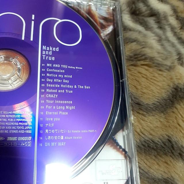 《hiro/Naked and true》【CDアルバム】 < タレントグッズの