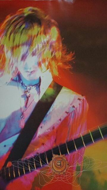 X JAPAN LUNA SEA SUGIZO ポスター 52センチ×70センチ  < タレントグッズの