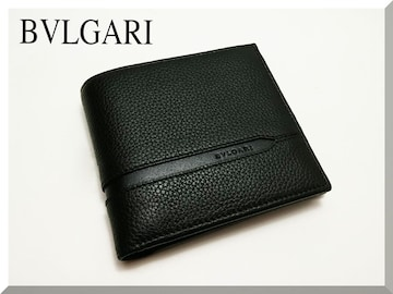 ☆BVLGARI☆ブルガリ オクト 二つ折り財布 36964