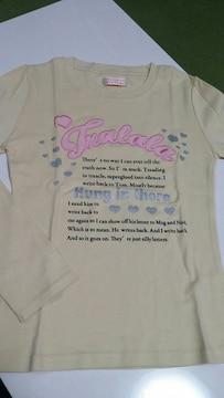 新品TRALALA長袖Tシャツ ・Mサイズ バクプリ��
