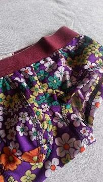 ガブリエルオム マイクロボクサーパンツS 花柄パープル紫
