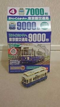 【動力付!!】Bトレ東京都交通局7000形・9000形(青)セット
