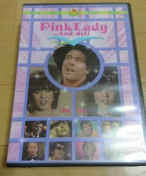 廃盤DVD!ピンクレディー「Pink Lady and…Jeff」☆