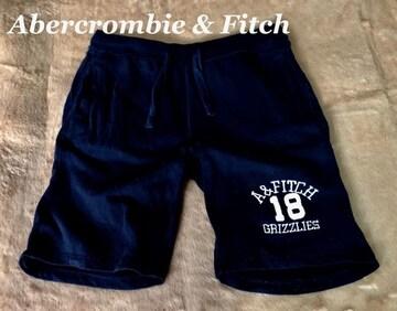 【Abercrombie&Fitch】スウェットショートパンツ L/Navy