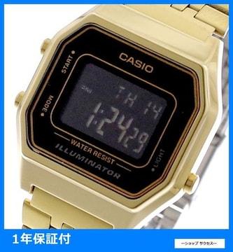 新品 即買い■カシオ 腕時計 レディース LA680WGA-1B