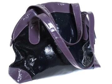 マーガレットハウエル ◆エナメルハンドバッグ◆パテント