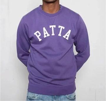 Patta Basic Athletic Crewneck Purple XL スウェット