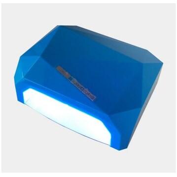 反射板なし ジェルネイル・クラフトレジン UV+LED 36W ブルー