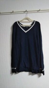 ユニクロ ゆったり丈長めセーター