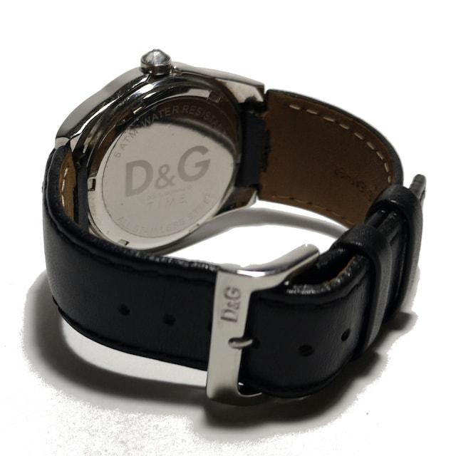 美品 1スタ★ドルガバ【ユニセックス】D&G 男女OK 腕時計