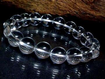 天然本水晶10ミリ数珠