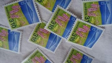 未使用 切手バラ310円 93% 額面3100円 送料60円