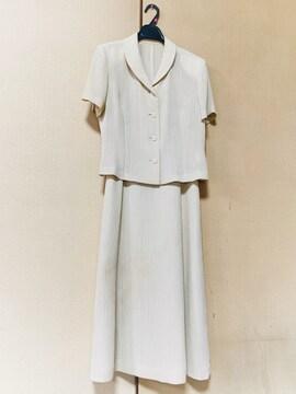 【日本製】清涼感◆上質ブラウス ロングスカートスーツ