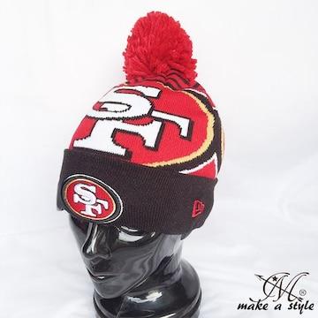 NEWERA ニューエラ 49ers ニットキャップ ニット帽 NFL 751