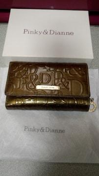 ピンキー&ダイアン 三つ折り中財布中古品