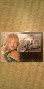2002 中西百重 直筆サインカード