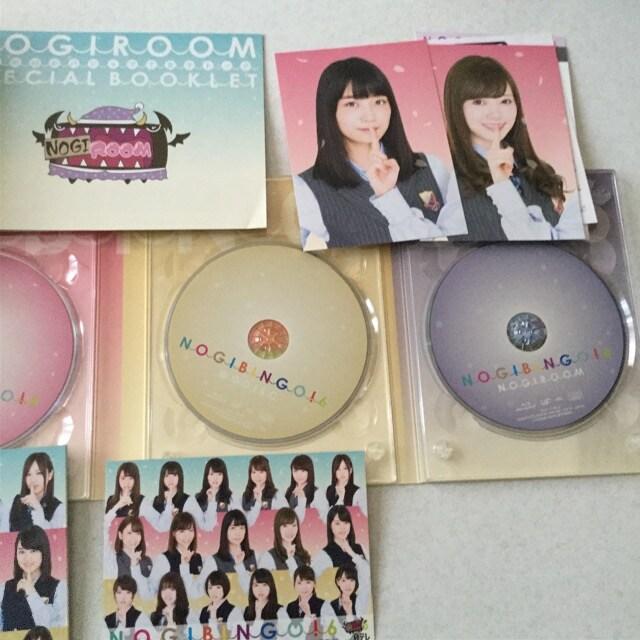 乃木坂46 NOGI BINGO ノギビンゴ 6 DISC4枚 < タレントグッズの