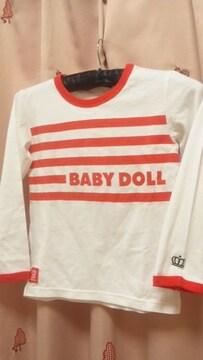 新品ベビードール長袖Tシャツ120BABYDOLL
