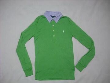 wr535 女 Ralph Lauren ラルフローレン 長袖ポロシャツ Sサイズ