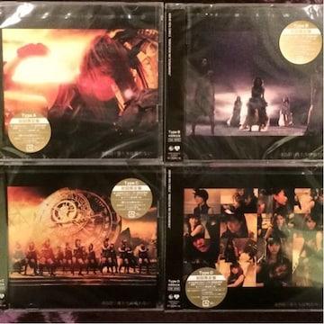 激安!☆AKB48/僕たちは戦わない☆初回盤ABCD/4CD+4DVD新品同様!