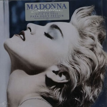 MADONNA マドンナ 名盤「TRUE BLUE」 アナログ盤 ラ・イスラ・ボニータ収録