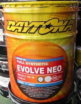 ☆ DAYTONA EVOLVE R. 5W-30.API SP. GF-6A. 全合成油.5GAL.