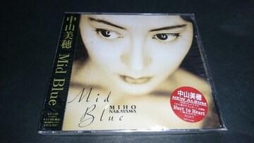 【新品】CD Mid Blue/中山美穂 アルバム