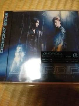 CDソフト 東方神起 CD+DVD 初回盤 ANDROID 帯付き