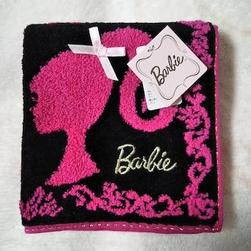 新品未使用タグ付き★バービー Barbie★可愛いタオルハンカチ