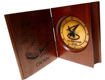 超希少 TOYOTA クラウン 40周年記念【非売品】置き時計