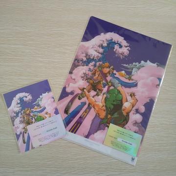 【送料無料】東京2020 公式アートポスター柄のA4クリアファイル&