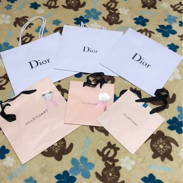 Dior ディオール ジルシチュアート JILLSTUART ショップ紙袋