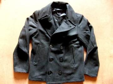 海軍 復刻モデル COOLな ピーコート ブラック 黒 M