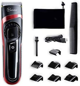 電動バリカン  USB充電式 セルフカット 水洗い可 メンズ キッズ