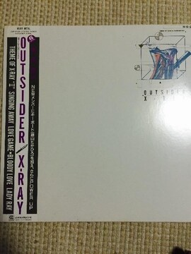 X-RAY  OUTSIDER  アナログレコード