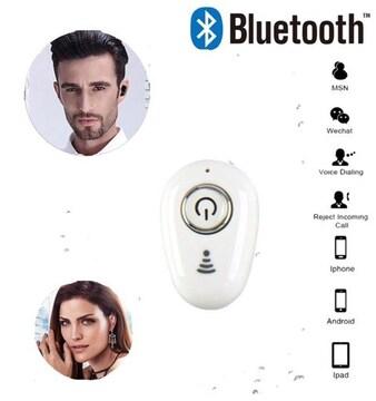 Bluetooth イヤホン ワイヤレス iPhone 対応  重低音 白