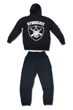 Syndicate★セットアップ★黒★L★新品
