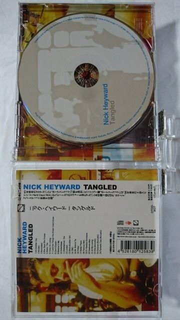 美品CD! タングルド / ニック・ヘイワード / 附属品購入時状態 < CD/DVD/ビデオの