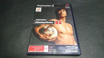 PS2 ワールドサッカー ウイニングイレブン6 / ウイイレ6