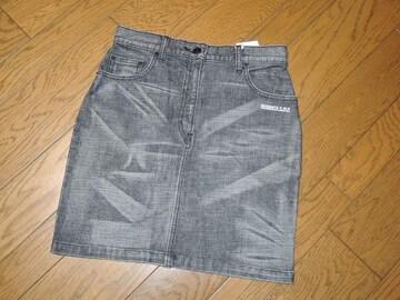 新品NEIGHBORHOODネイバーフッドデニムスカート黒XS半額以下