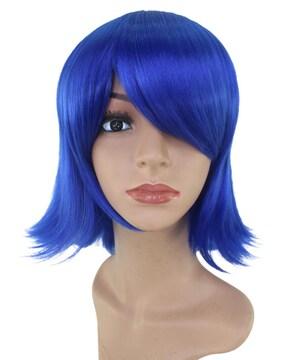 Wigs2you C-012 C-DARK BLUE☆コスプレウィッグ