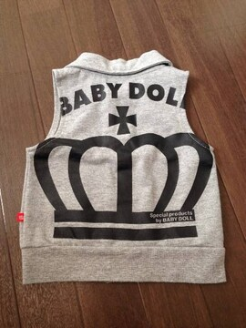 BABY DOLL美品ベスト80ミッキー