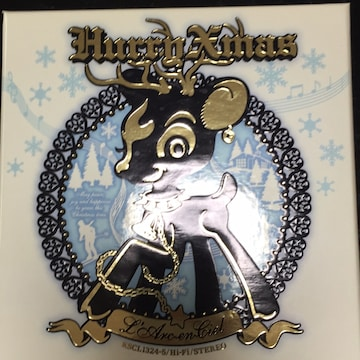 L'Arc-en-ciel☆Hurry Xmas2008初回限定版DVD付き☆シングルCD