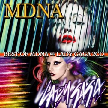 Madonna & Lady Gaga 豪華2枚組50曲 Best MixCD