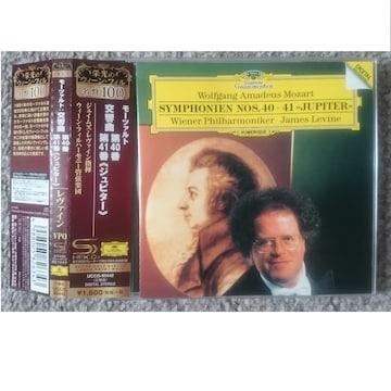KF モーツァルト 交響曲第40番、第41番ジュピター 【SHM-CD】