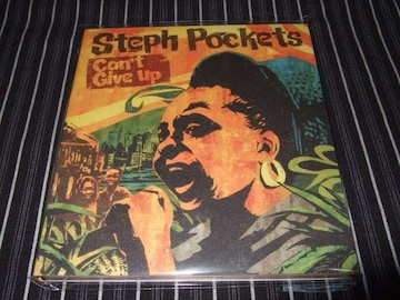 STEPH POCKETS/CAN'T GIVE UP 国内盤 美品(ARRESTED DEVELOPMENT